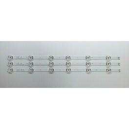 Tira de retroiluminación de TV para LG 32LB550B, 32LB560B, 32LB561B 3 unidades envio 24h españa